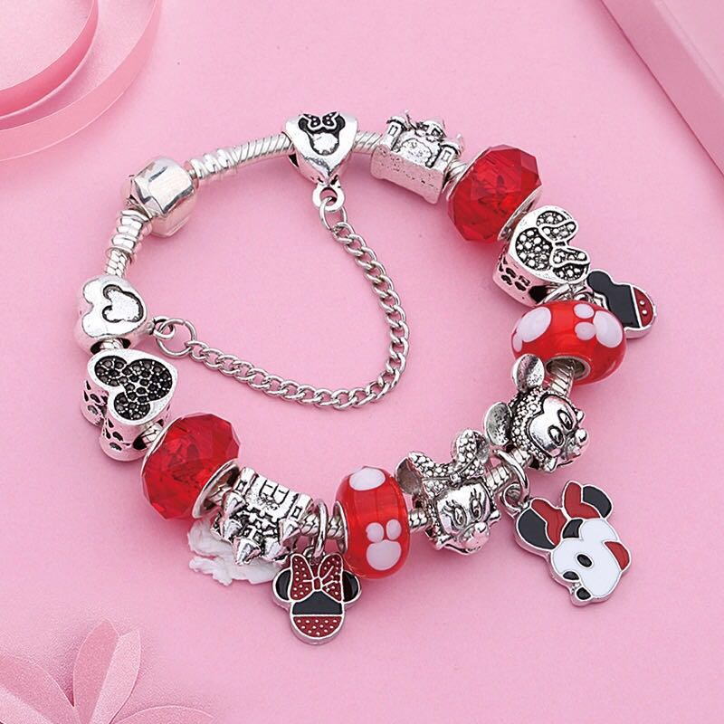 &merci Charm Bracelet Minnie Mouse