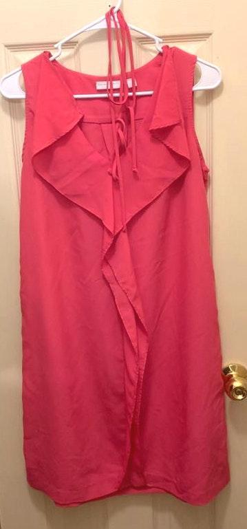 New York & Co. Pink Shift Dress