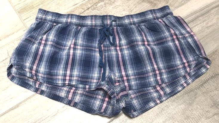 Aerie Plaid Pajama Shorts