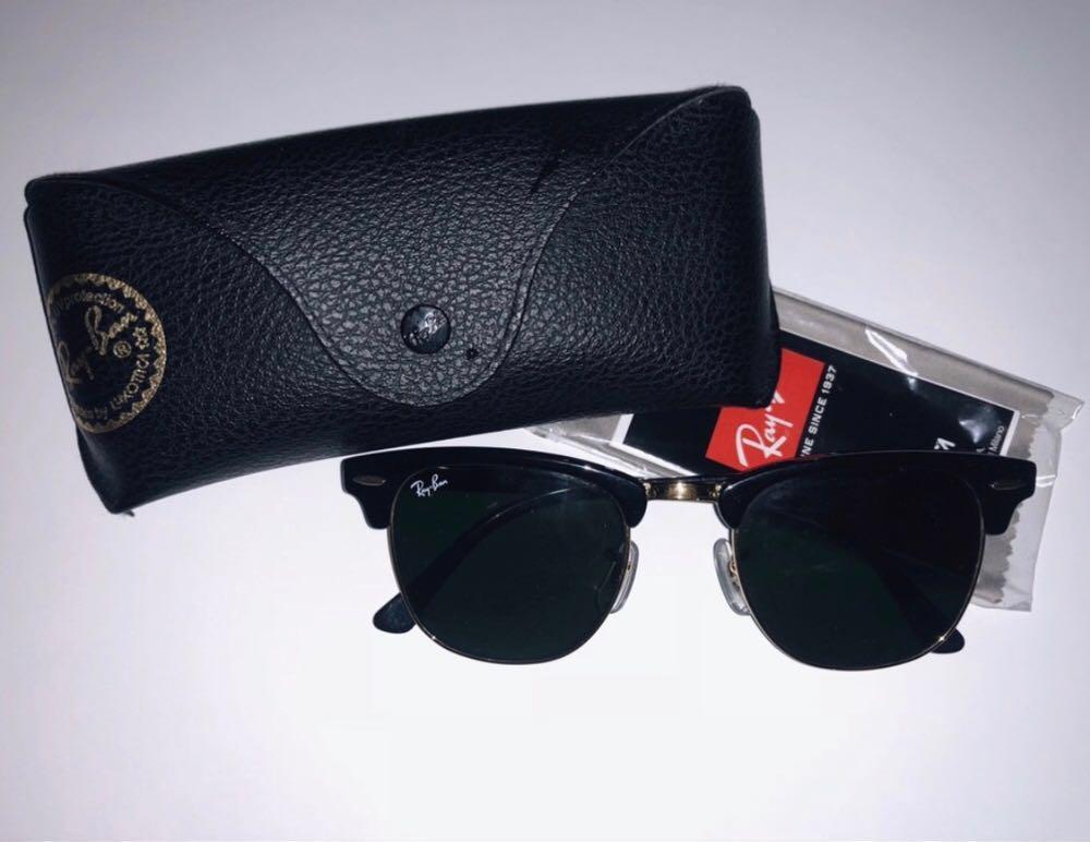 Ray-Ban RayBan Clubmaster Metal Sunglasses