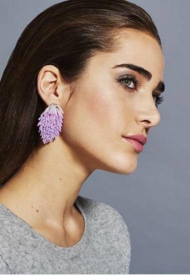 Mignonne Gavigan Pink Burst Earrings