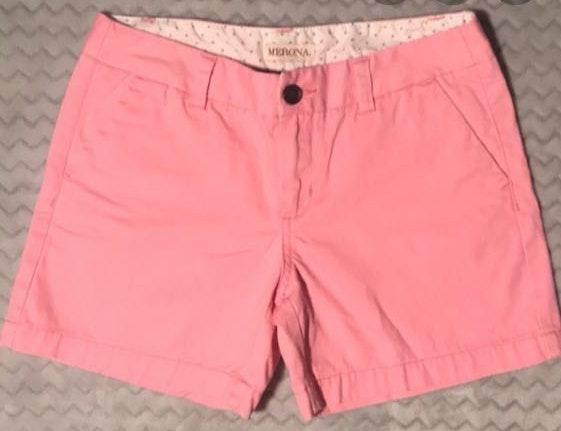 Merona Pink Cotton Shorts