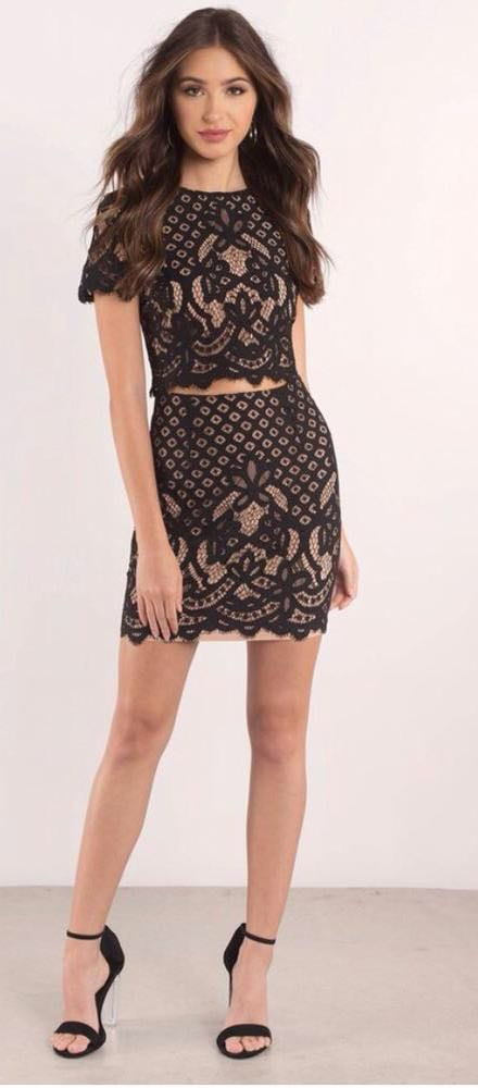 Lace Two Piece