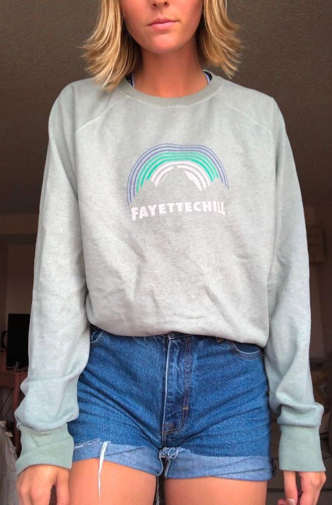 Urban Outfitters Fayettechill Graphic Sweatshirt