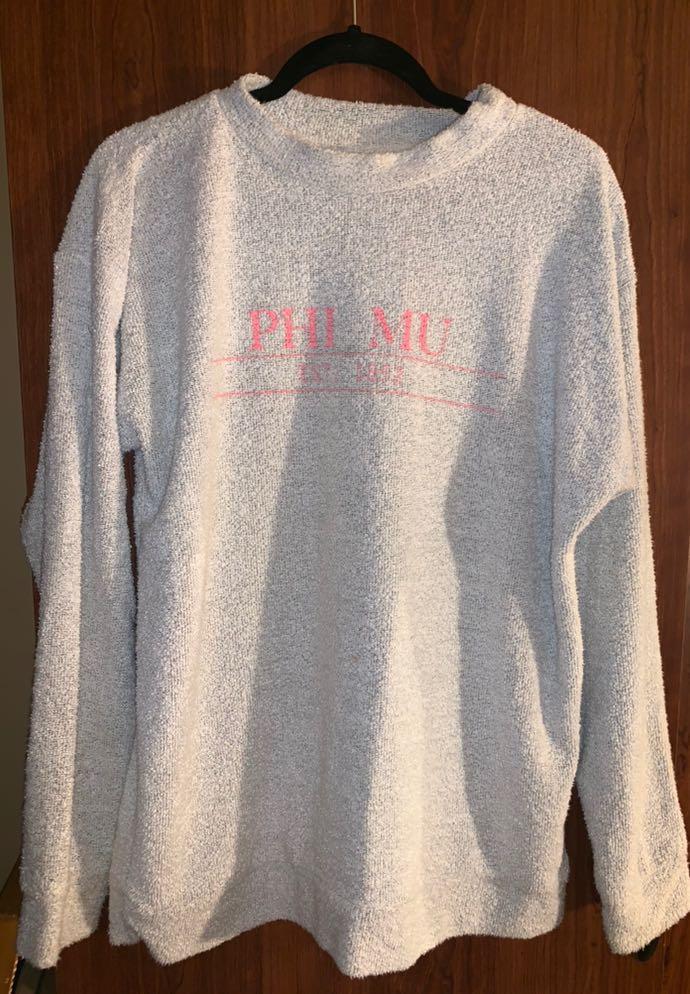 Woolly Threads Phi Mu Sweatshirt