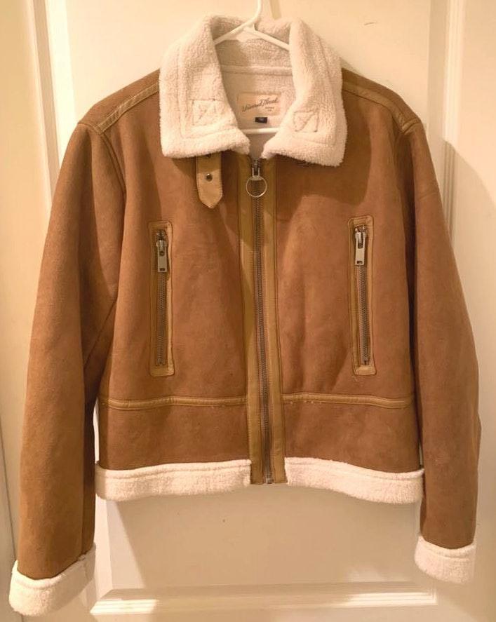 Universal Thread NWOT Tan Suede Jacket