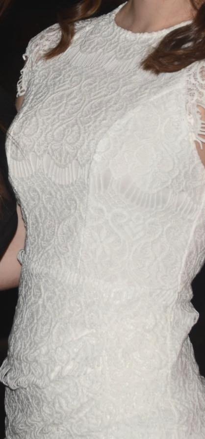 Xenia Lace White Dress