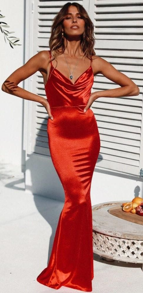 Hello Molly Test Of Time Maxi Dress Red