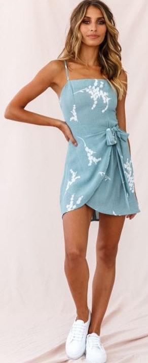 Selfie Leslie Wrap Dress