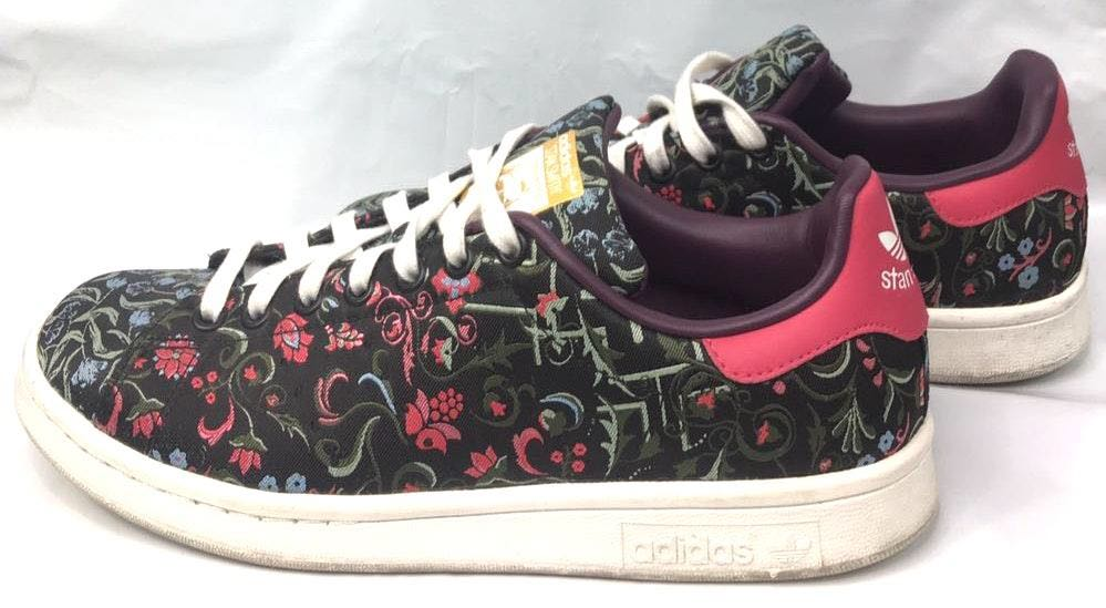online retailer 0c9ac d86c3 Adidas Stan Smith Original Floral Sneakers