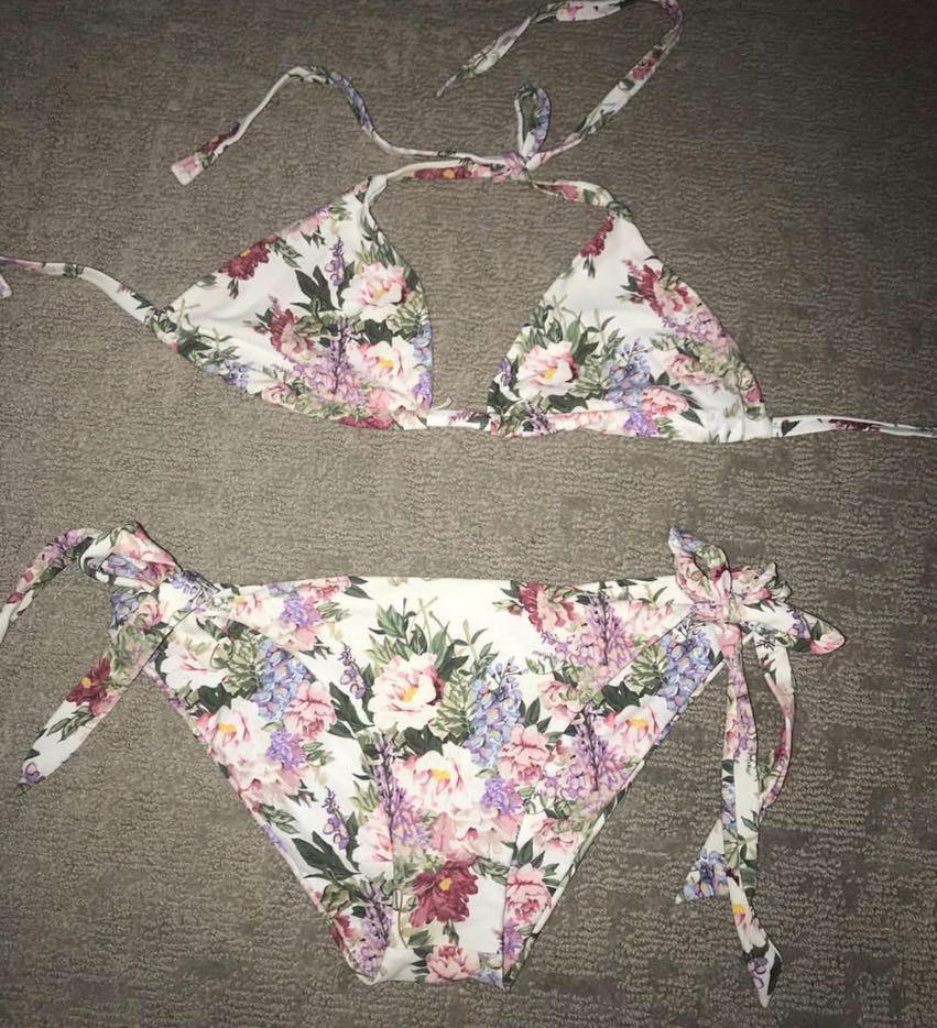 Show Me Your Mumu Floral Bikini Set