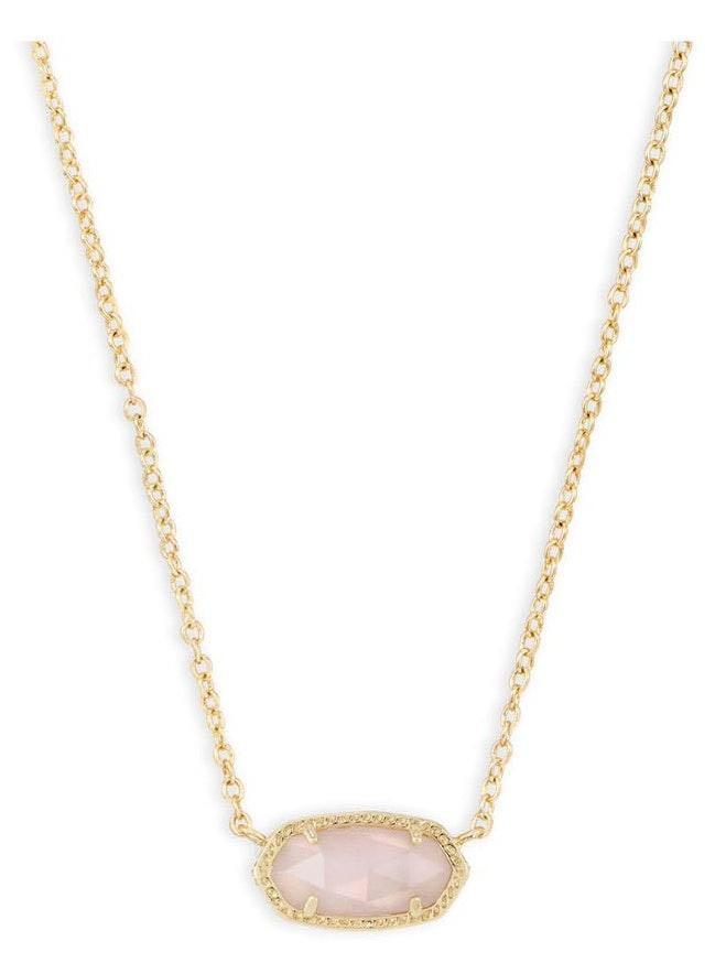 Kendra Scott Like-new Rose Quartz Necklace
