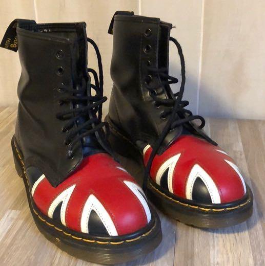 Dr. Martens Size 7 (men's) Flag Boots
