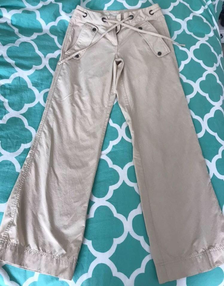 Tommy Hilfiger Vintage Flare Khaki Pants