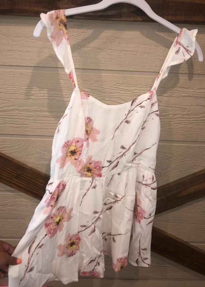 Urban Outfitters floral print romper