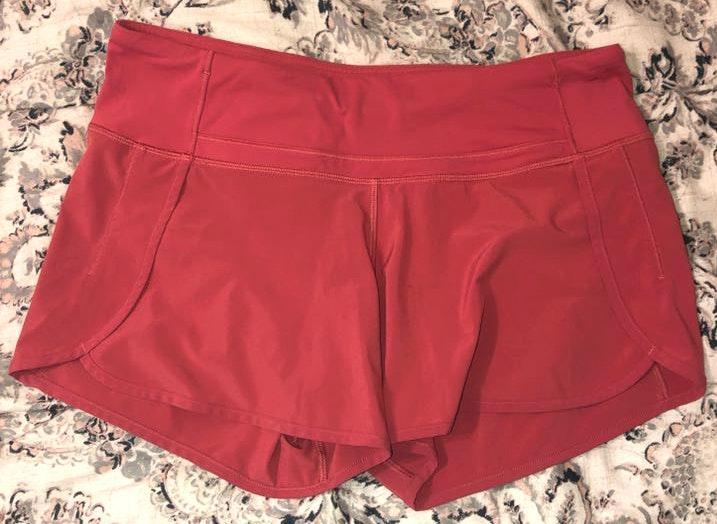 Lululemon Coral Shorts