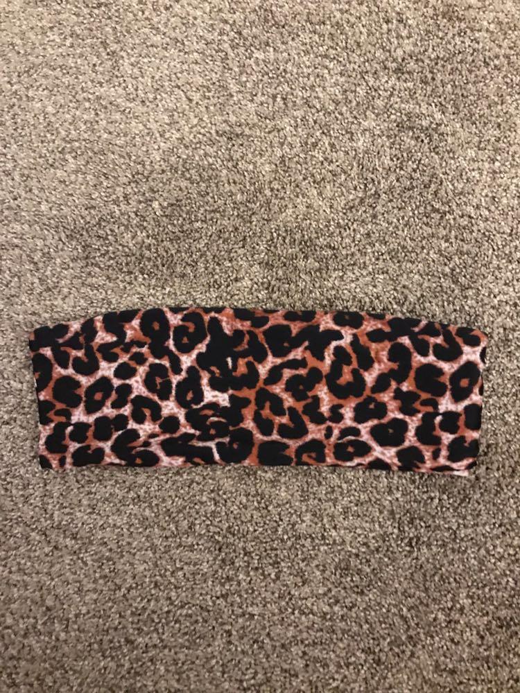 SheIn High Waisted Cheetah Print Bikini