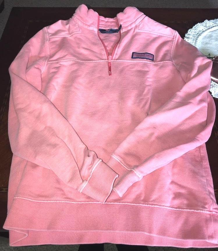 Vineyard Vines Pink Pullover