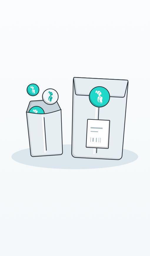 Curtsy Shipping Kit- 3 Mailer Kit