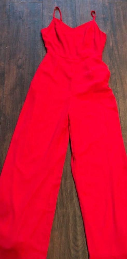 Gianni Bini Red Jumpsuit