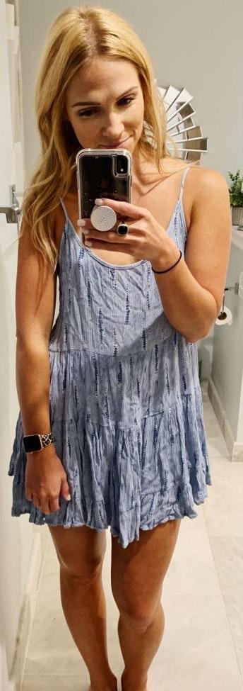 Audrey 3+1 Low Back Lace Up Dress