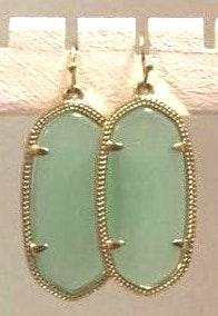 Kendra Scott Danielle  earrings in mint