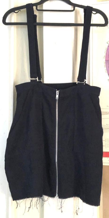 Lizard Thicket Corduroy Overall Skirt