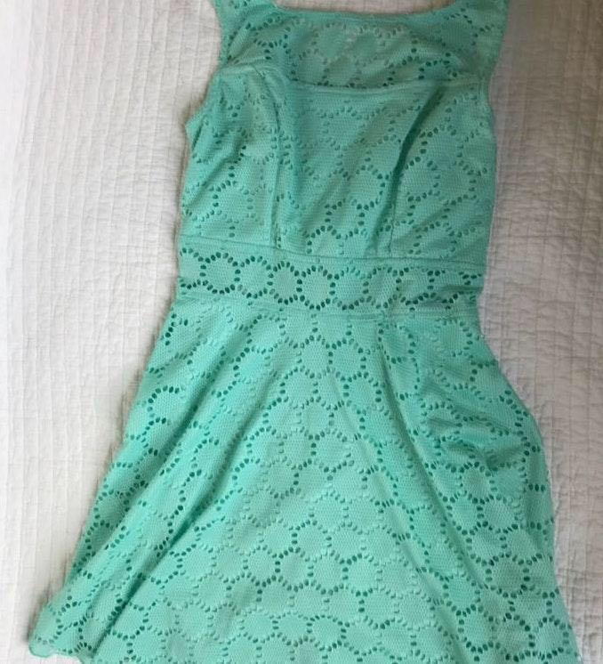 Trixxi Mint Green Mini Dress