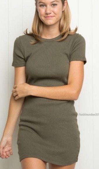 257791dc3 Brandy Melville Tshirt Dress   Curtsy