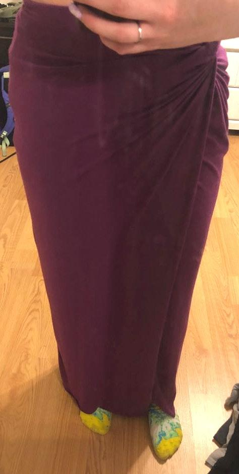 Forever 21 Purple Maxi Skirt