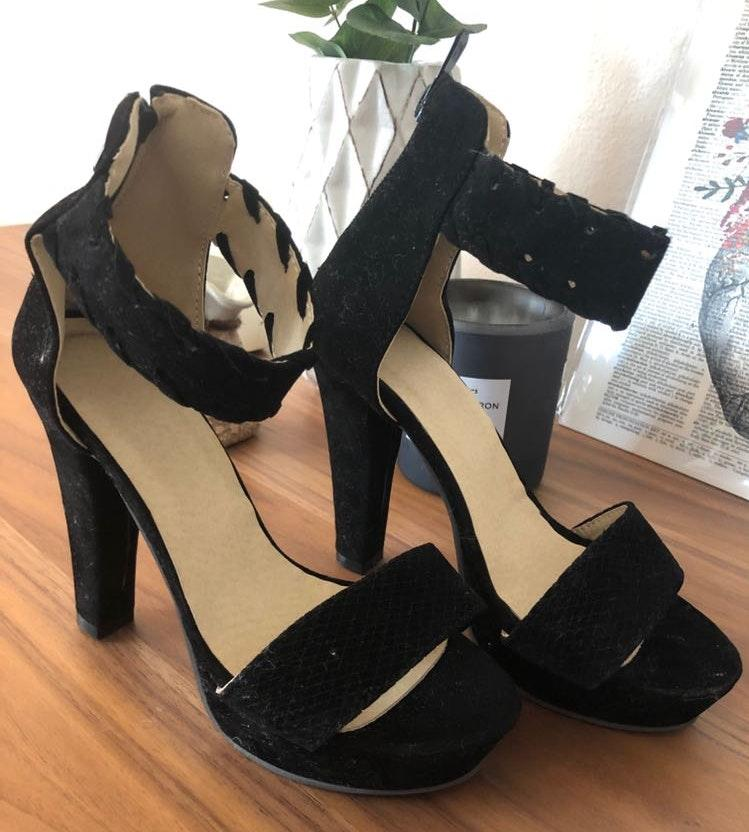 Amazon Only Worn Once Black Heels