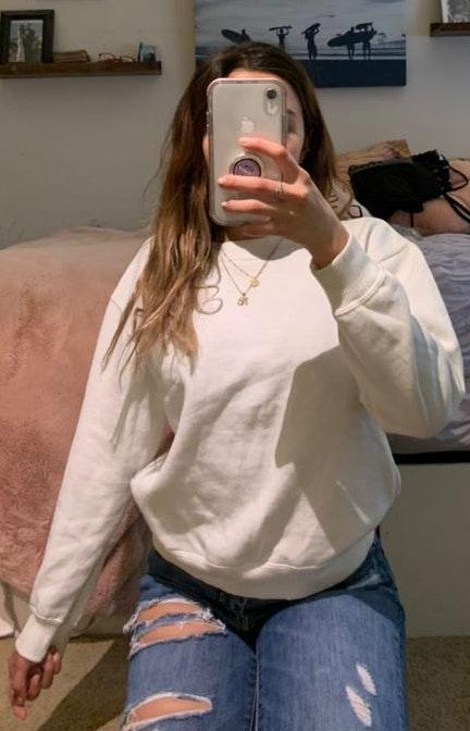 Urban Outfitters Simple White Crewneck
