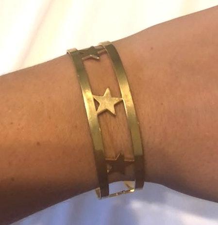 Boutique Gold Star Cuff 🌟