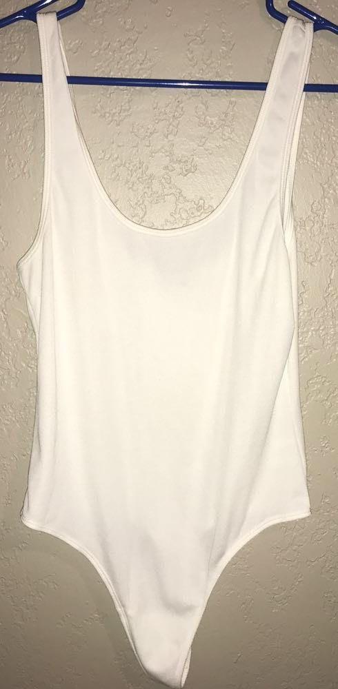 Dress Forum White Bodysuit