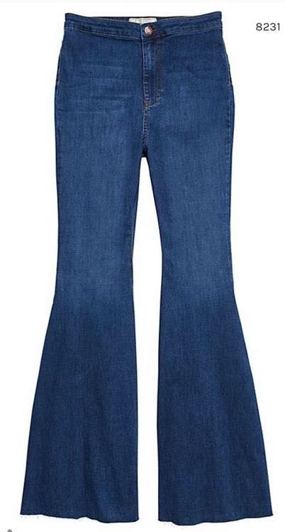 Free People Bell Bottoms Jeans