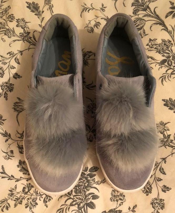 Sam Edelman PomPom Sneakers Size 8