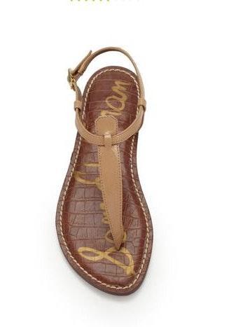 Sam Edelman T strap sandals