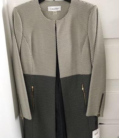 Calvin Klein Brand New  Long Blazer