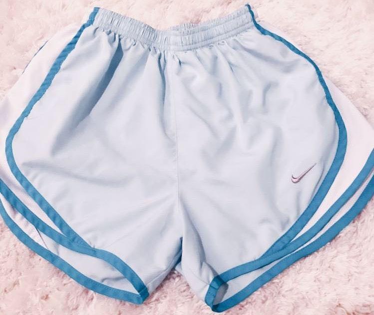 Nike Light Blue  Shorts
