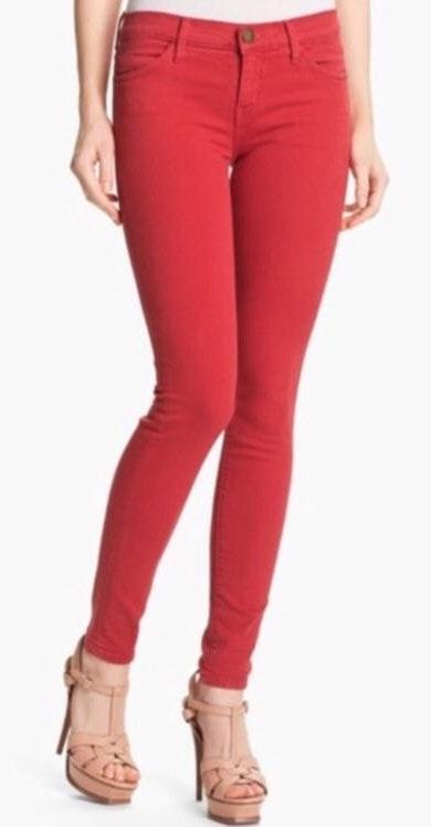 Current/Elliott Red Current/elliot Skinny Jeans