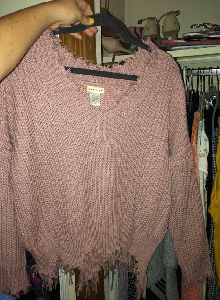 Figleaf Pink Sweater