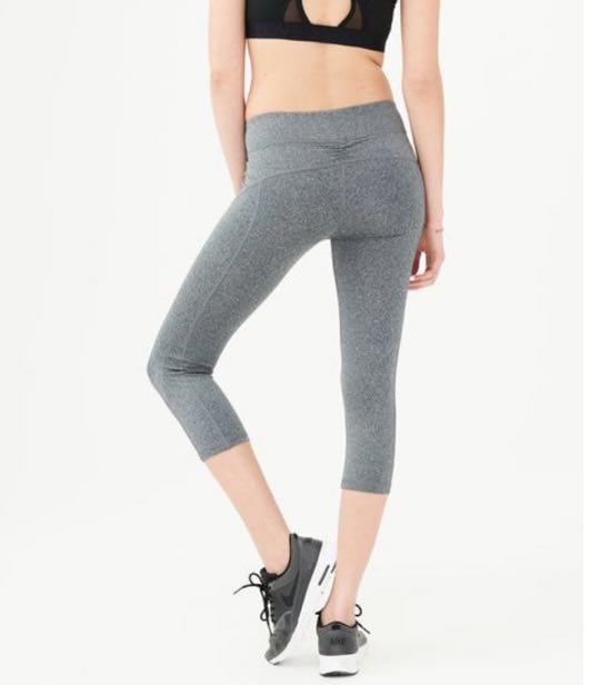 "Aeropostale ""Best Booty Ever"" Gray Capris"