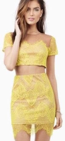 Tobi Two Piece Lace Set
