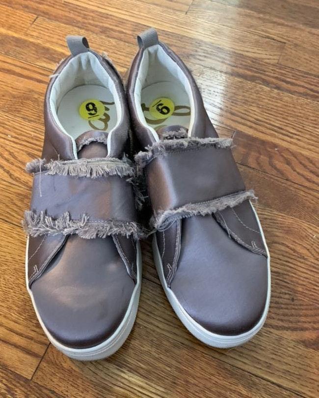 Sam Edelman Silver Sneakers