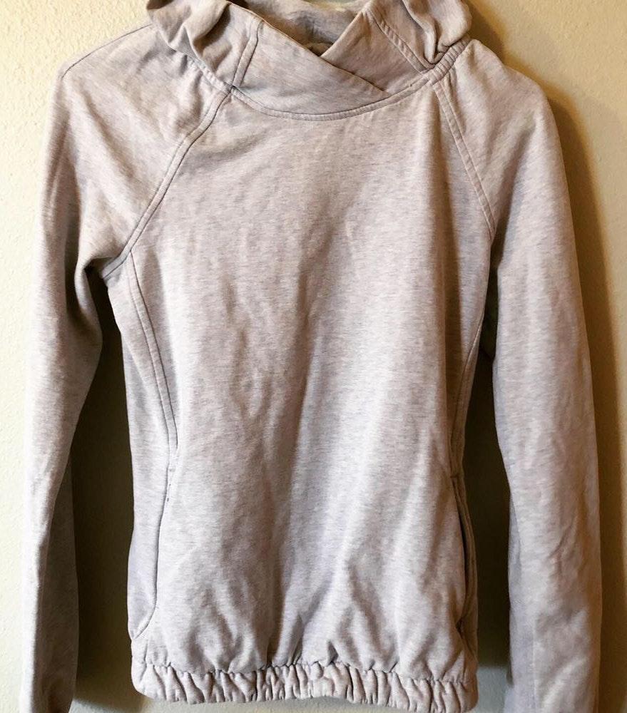Lululemon Grey Pullover sweatshirt
