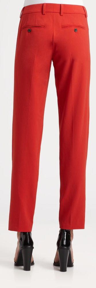 Vince Geranium Wool Track Career Pants