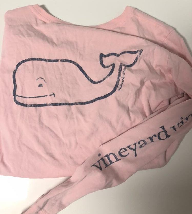 Vineyard Vines Pink Vineyard Vine Long-sleeve