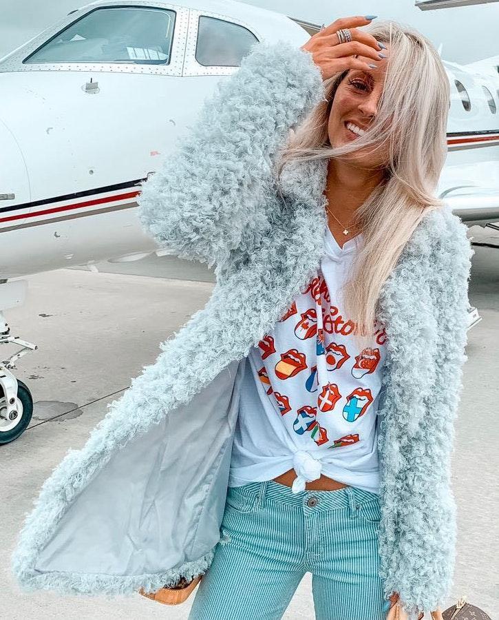 Romeo + Juliet Couture Fur Jacket