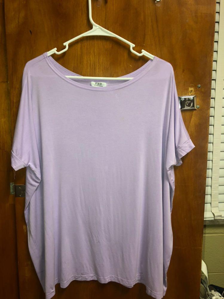 Piko Purple  short sleeve shirt