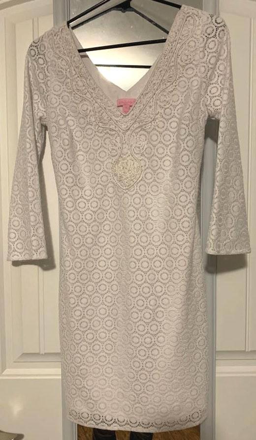8eaf75118d8 Lilly Pulitzer White Dress
